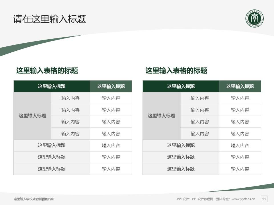 哈尔滨城市职业学院PPT模板下载_幻灯片预览图11