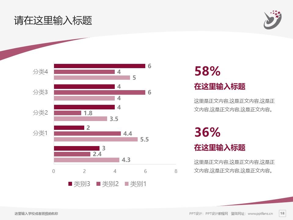 哈尔滨职业技术学院PPT模板下载_幻灯片预览图18