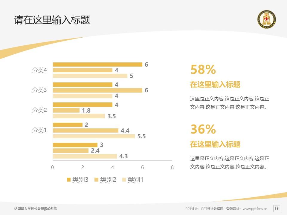 长春金融高等专科学校PPT模板_幻灯片预览图18
