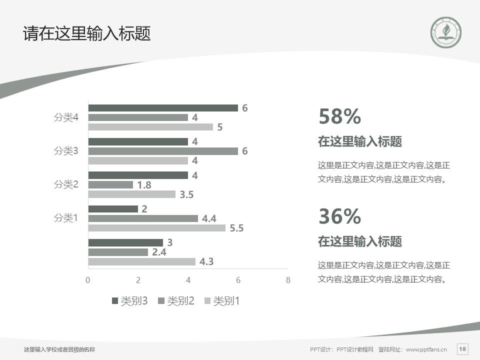 永城职业学院PPT模板下载_幻灯片预览图18