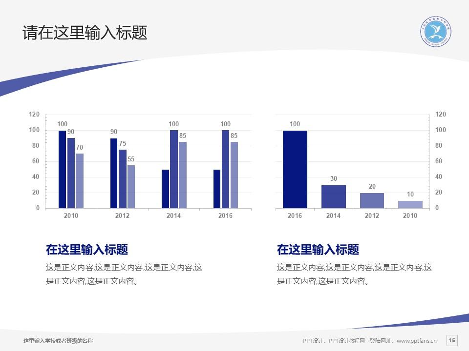 大庆医学高等专科学校PPT模板下载_幻灯片预览图15