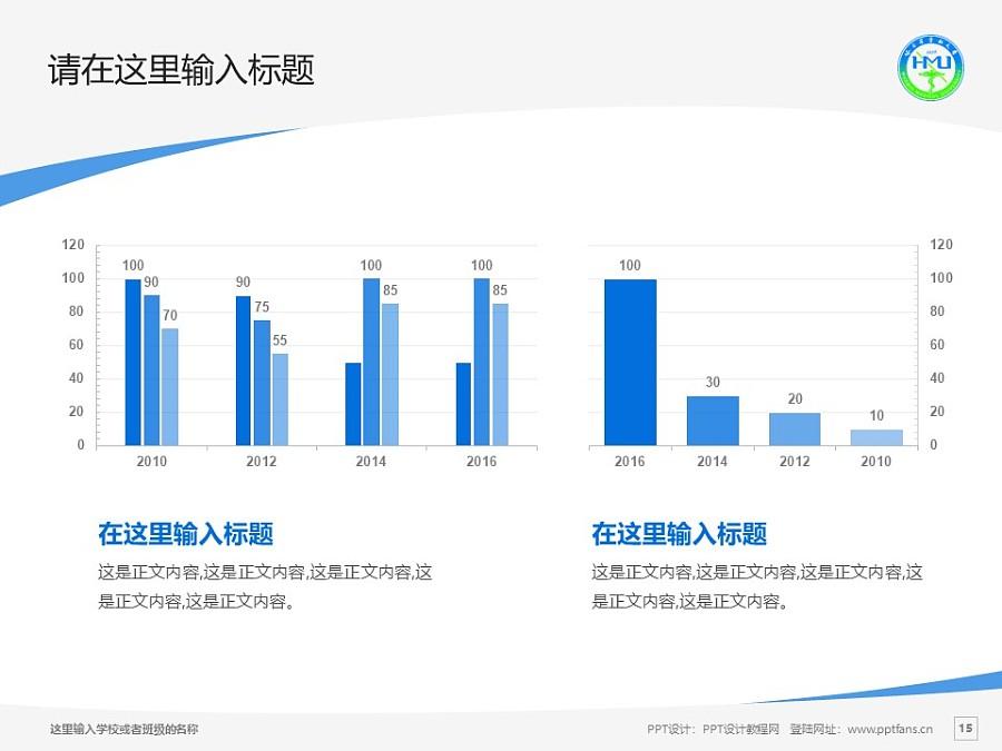 哈尔滨医科大学PPT模板下载_幻灯片预览图15