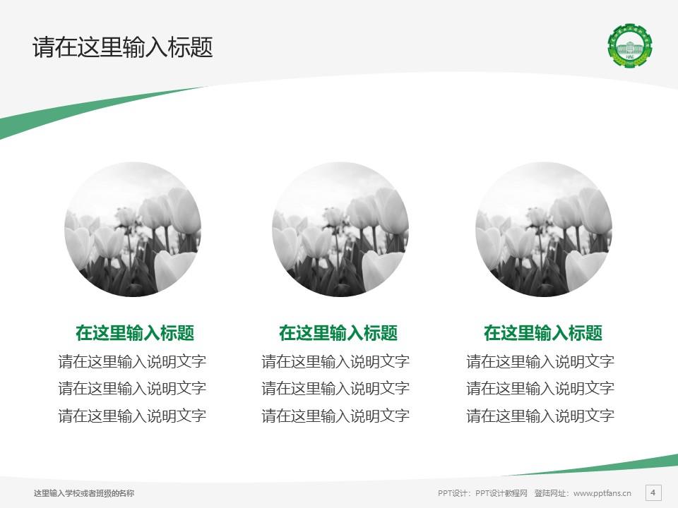 黑龙江农业工程职业学院PPT模板下载_幻灯片预览图4