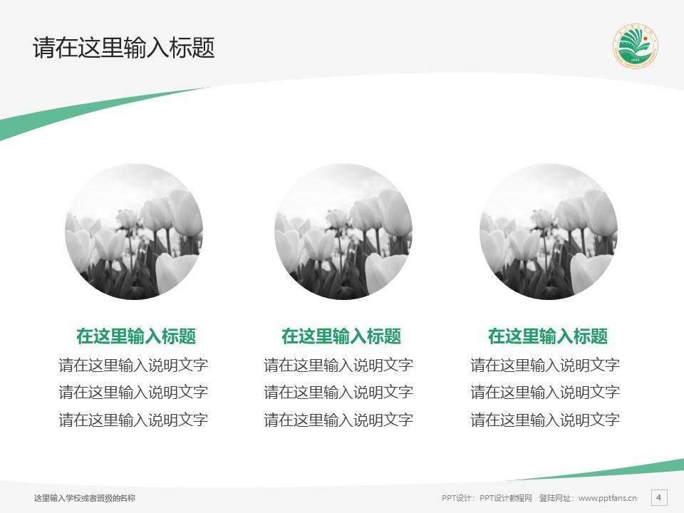 大庆师范学院PPT模板下载_幻灯片预览图4