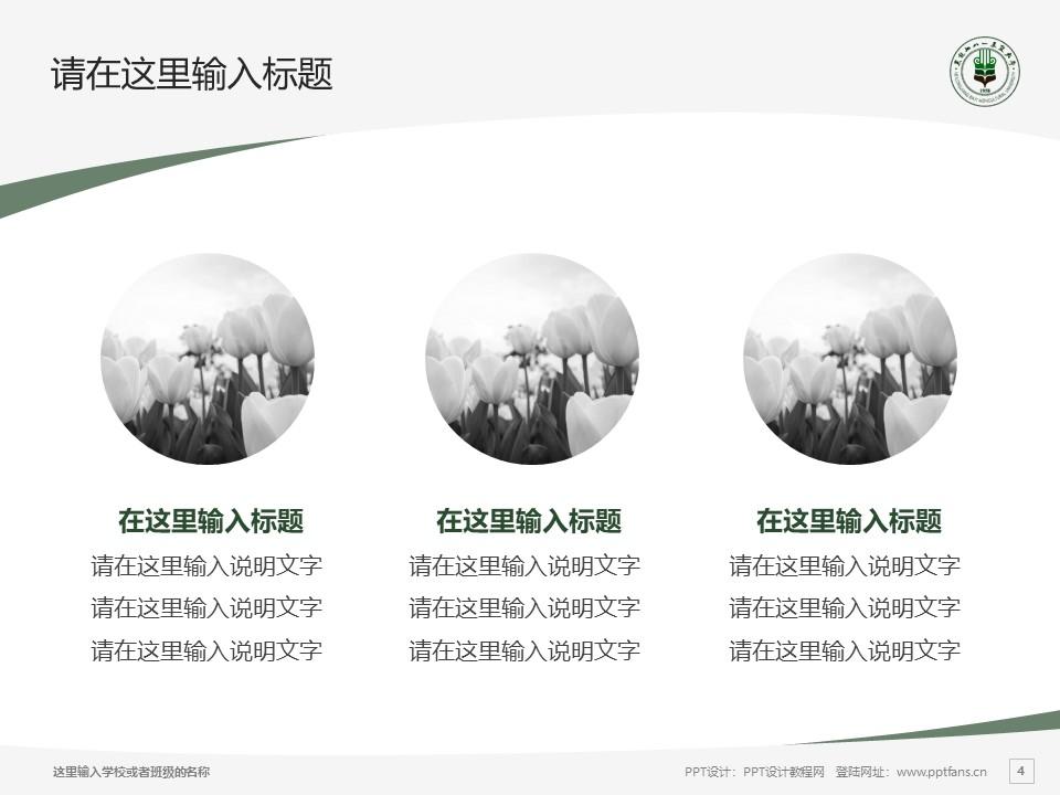 黑龙江八一农垦大学PPT模板下载_幻灯片预览图4