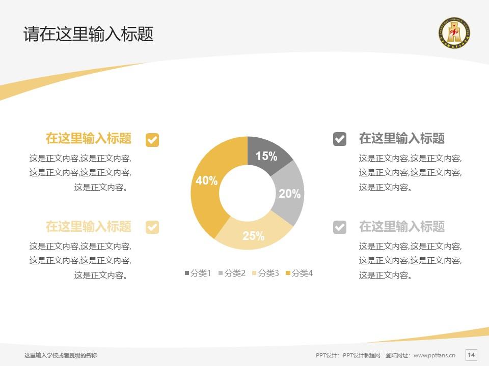 长春金融高等专科学校PPT模板_幻灯片预览图14