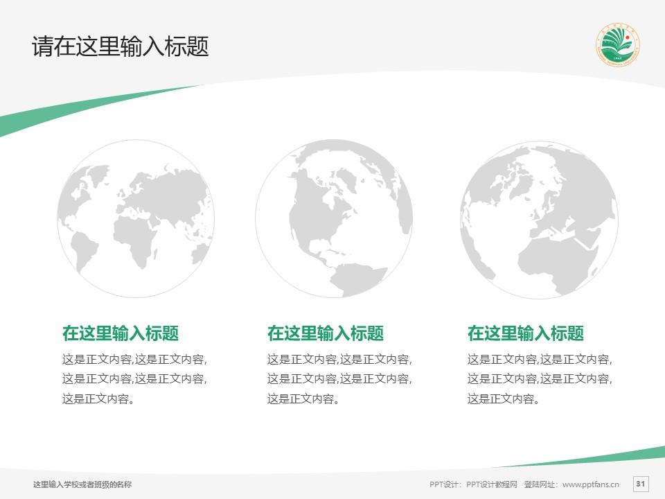 大庆师范学院PPT模板下载_幻灯片预览图31