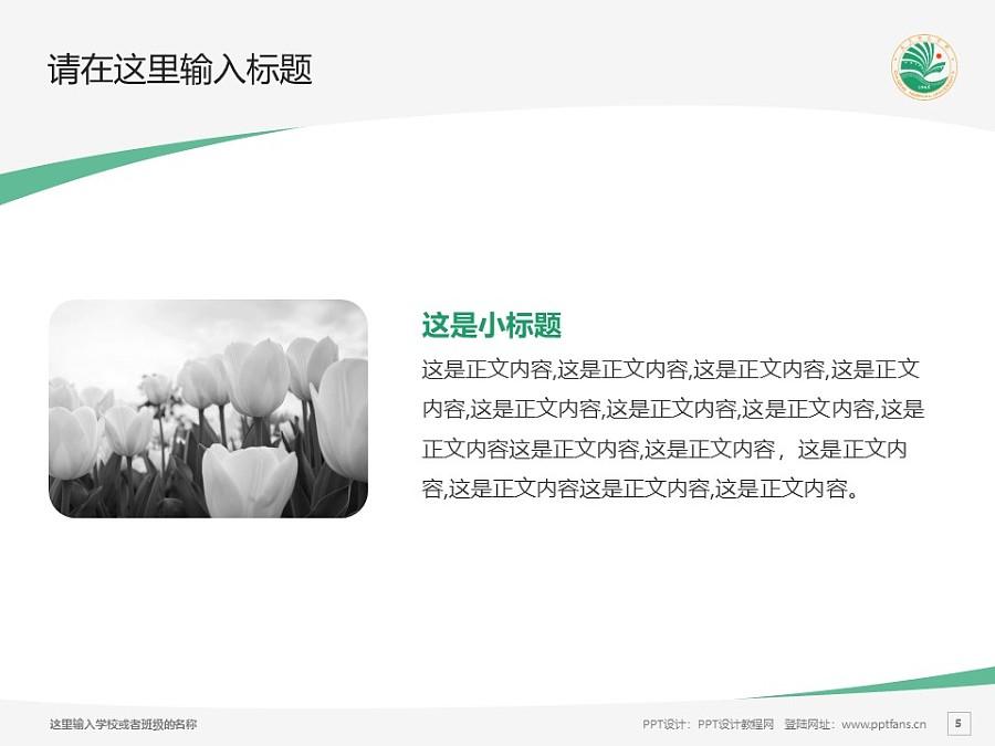 大庆师范学院PPT模板下载_幻灯片预览图5