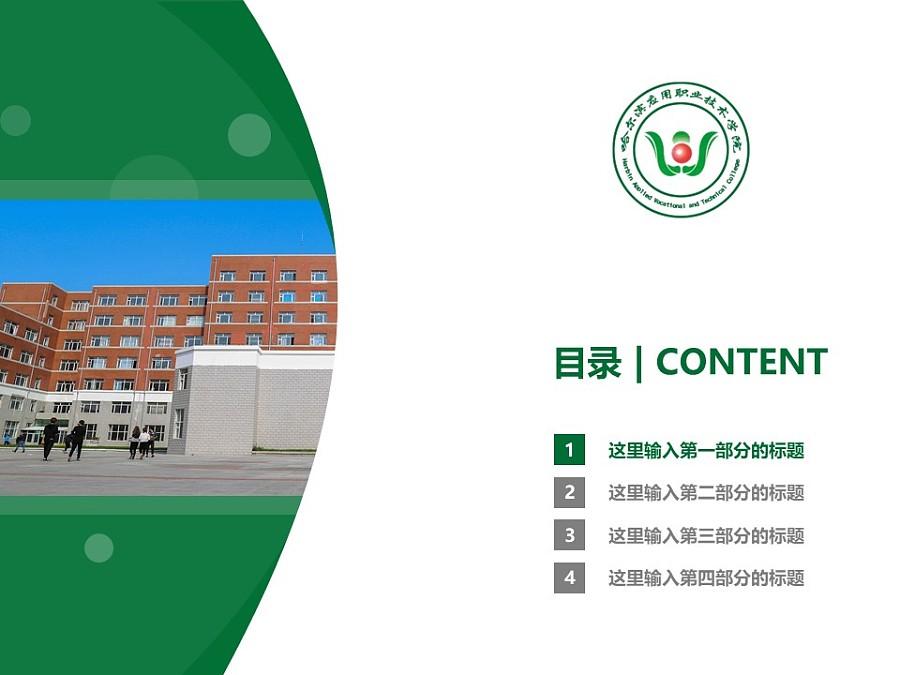 哈尔滨应用职业技术学院PPT模板下载_幻灯片预览图3