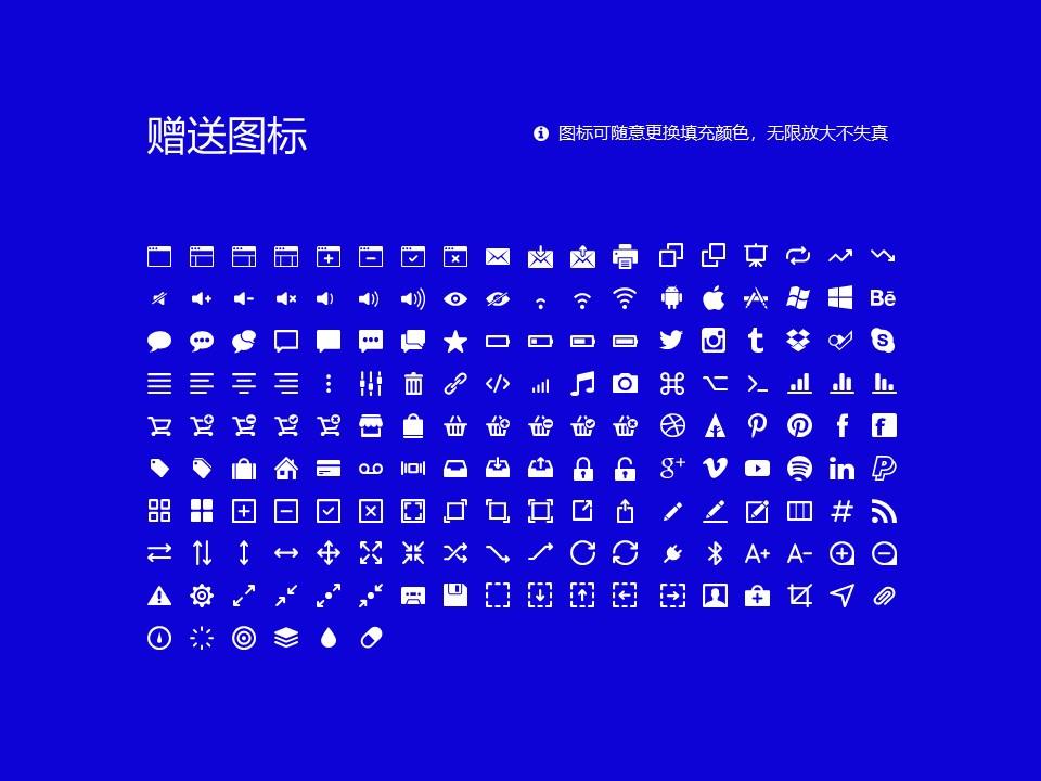 嵩山少林武术职业学院PPT模板下载_幻灯片预览图42