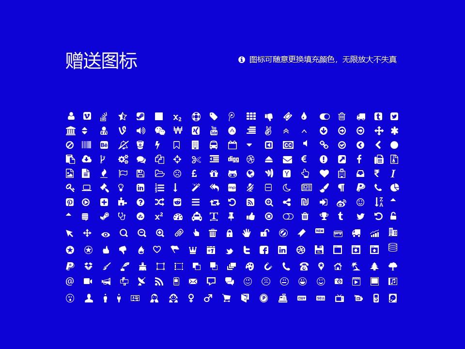 嵩山少林武术职业学院PPT模板下载_幻灯片预览图45