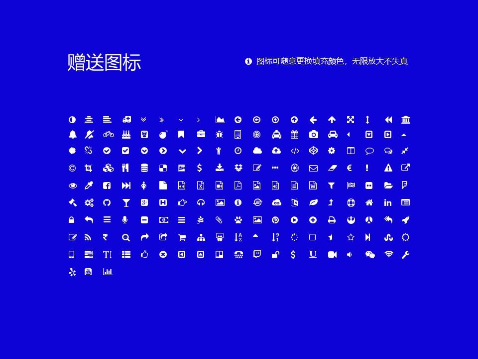 嵩山少林武术职业学院PPT模板下载_幻灯片预览图44