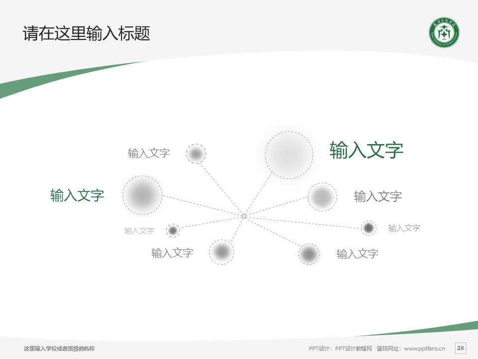 武汉长江工商学院PPT模板下载_幻灯片预览图28
