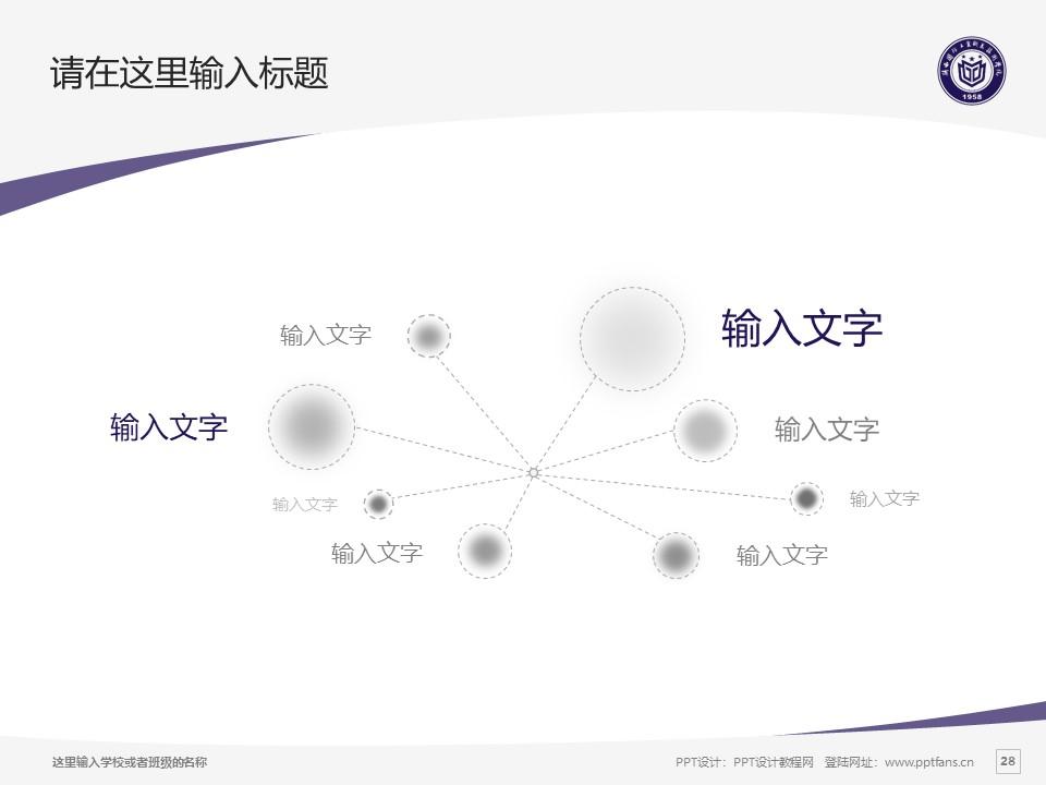 陕西国防工业职业技术学院PPT模板下载_幻灯片预览图28