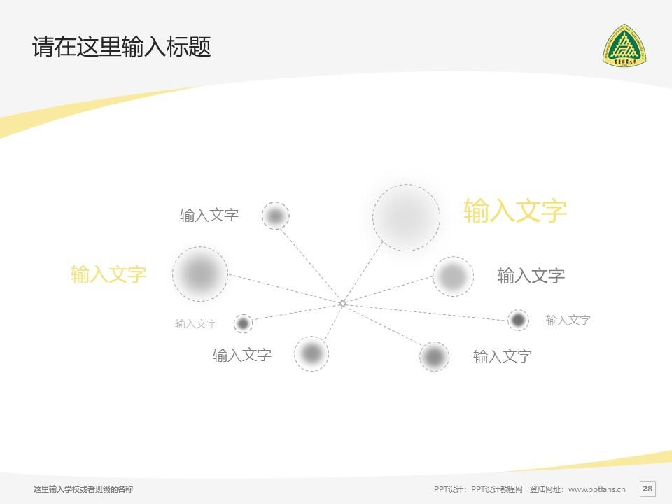 重庆邮电大学PPT模板_幻灯片预览图28
