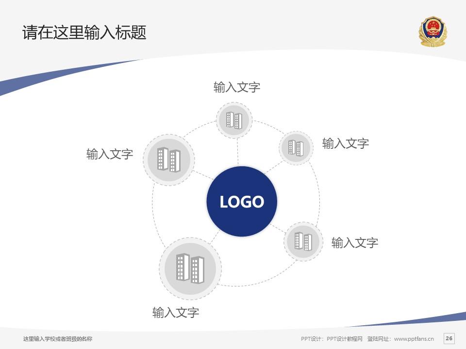 河南司法警官职业学院PPT模板下载_幻灯片预览图25