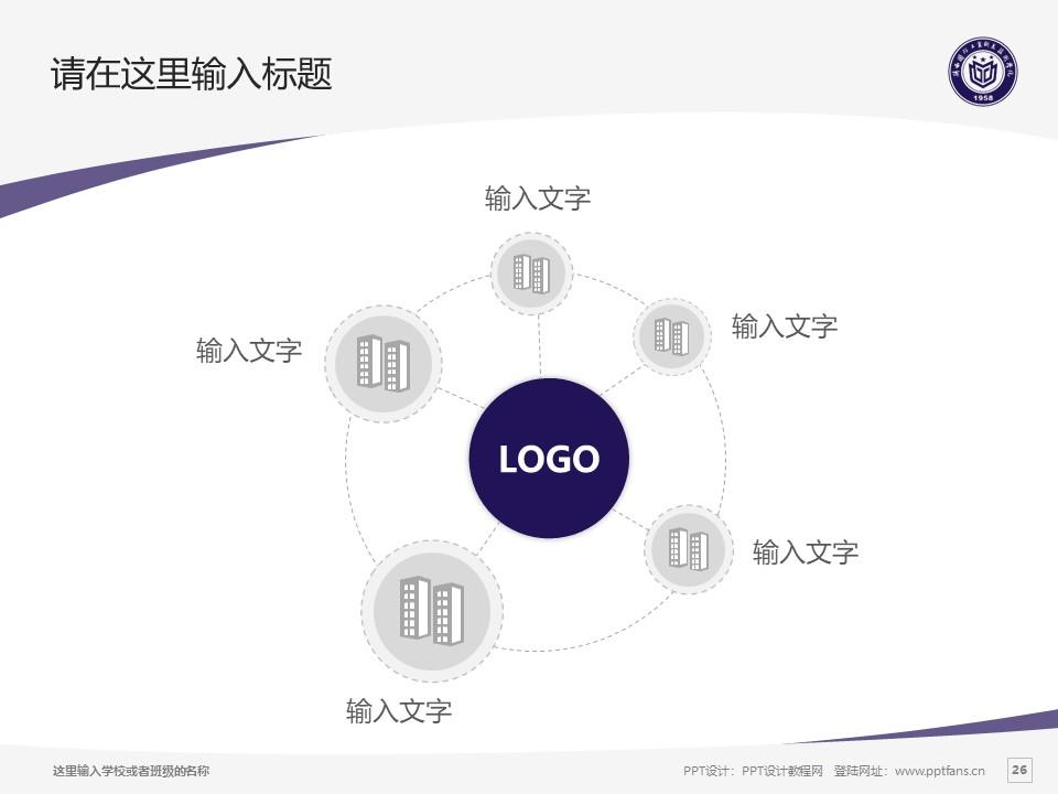 陕西国防工业职业技术学院PPT模板下载_幻灯片预览图26