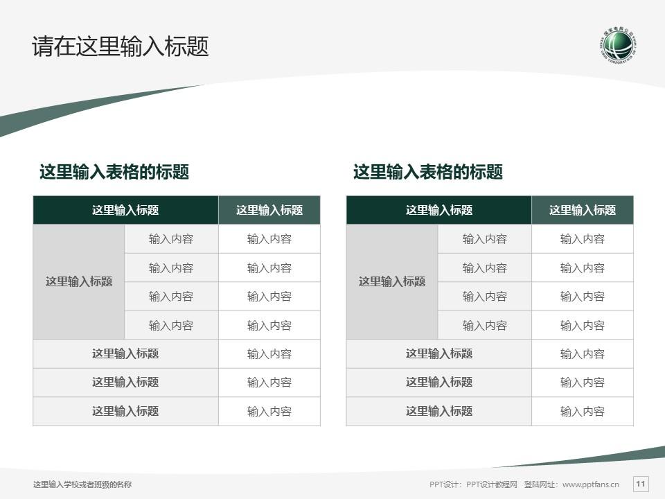 武汉电力职业技术学院PPT模板下载_幻灯片预览图11