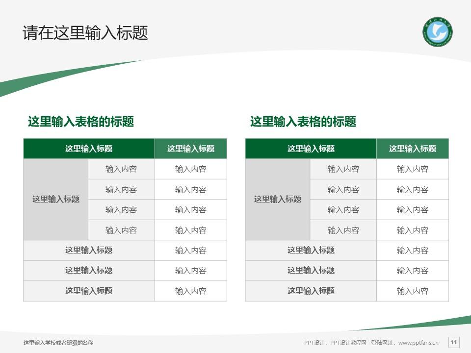 武汉科技大学PPT模板下载_幻灯片预览图11