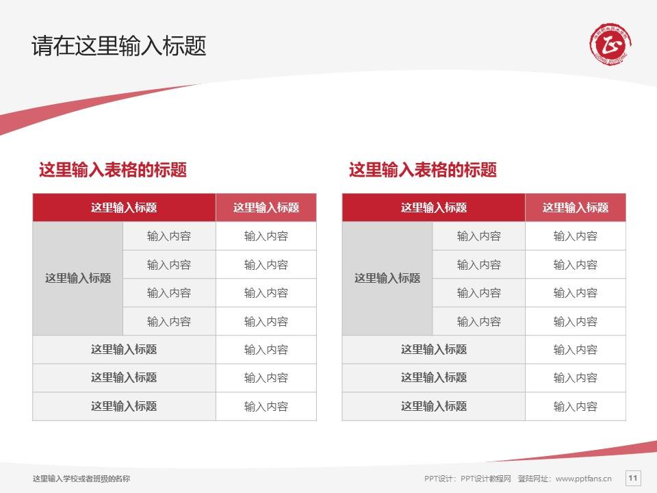 洛阳职业技术学院PPT模板下载_幻灯片预览图11