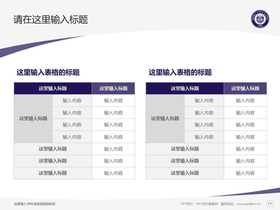 陕西国防工业职业技术学院PPT模板下载_幻灯片预览图11