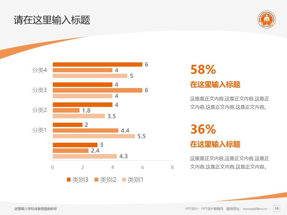 武汉民政职业学院PPT模板下载_幻灯片预览图18