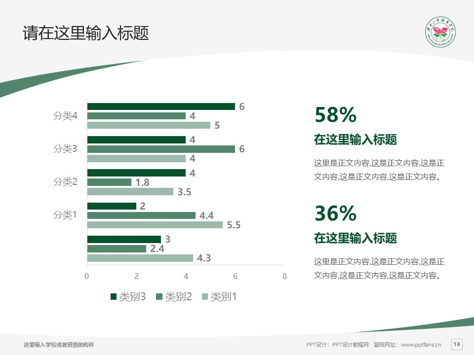 陕西工商职业学院PPT模板下载_幻灯片预览图18