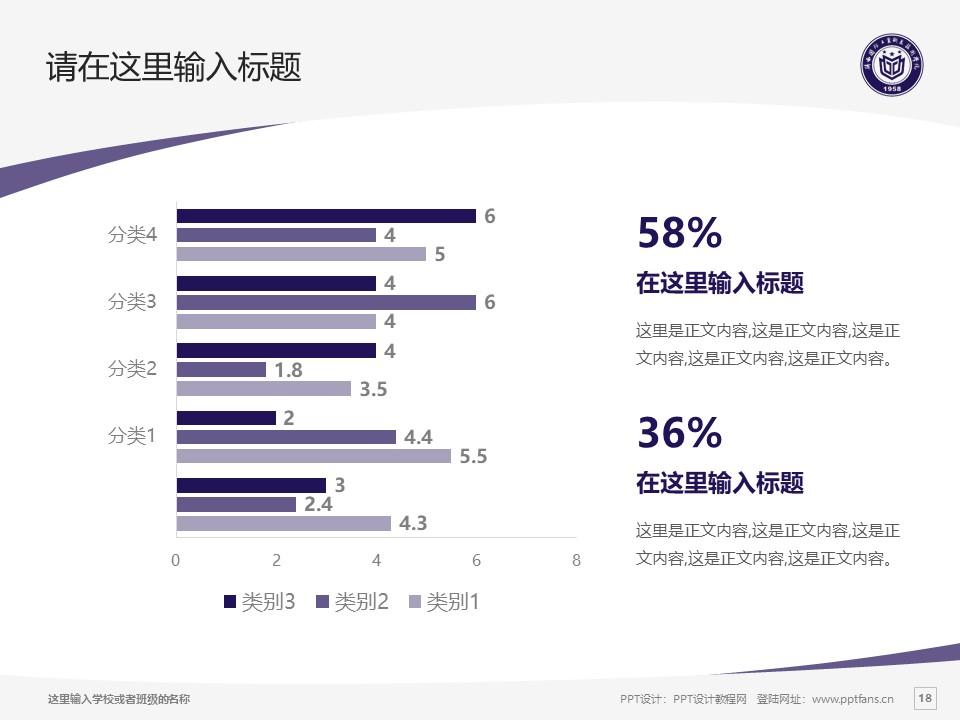 陕西国防工业职业技术学院PPT模板下载_幻灯片预览图18