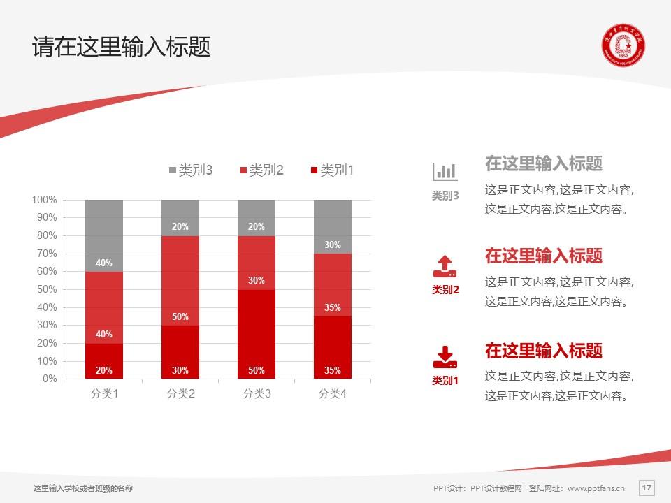 陕西青年职业学院PPT模板下载_幻灯片预览图17