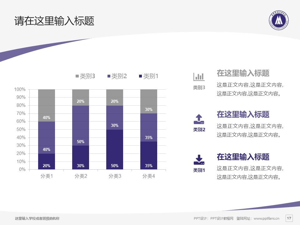 重庆传媒职业学院PPT模板_幻灯片预览图17