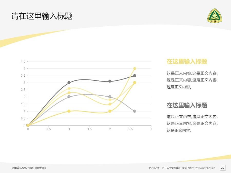 重庆邮电大学PPT模板_幻灯片预览图20