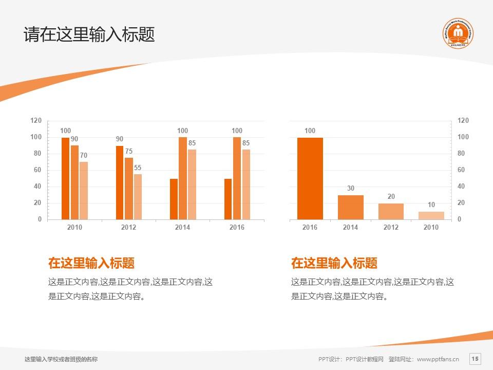 武汉民政职业学院PPT模板下载_幻灯片预览图15