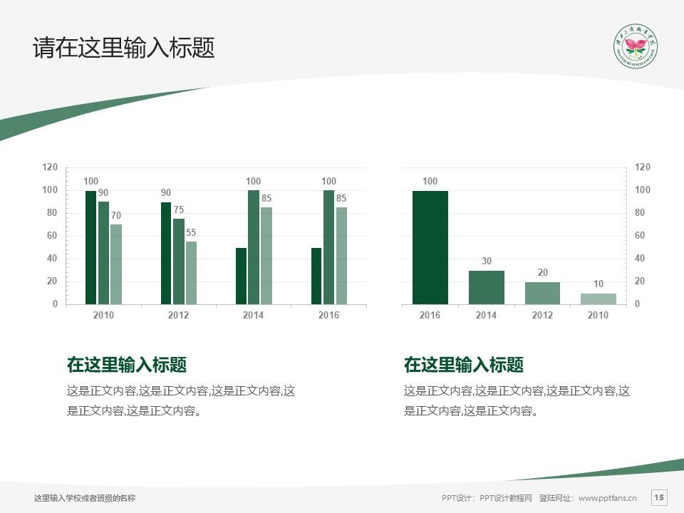陕西工商职业学院PPT模板下载_幻灯片预览图15