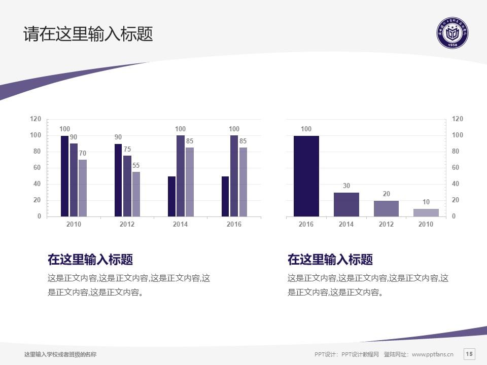 陕西国防工业职业技术学院PPT模板下载_幻灯片预览图15