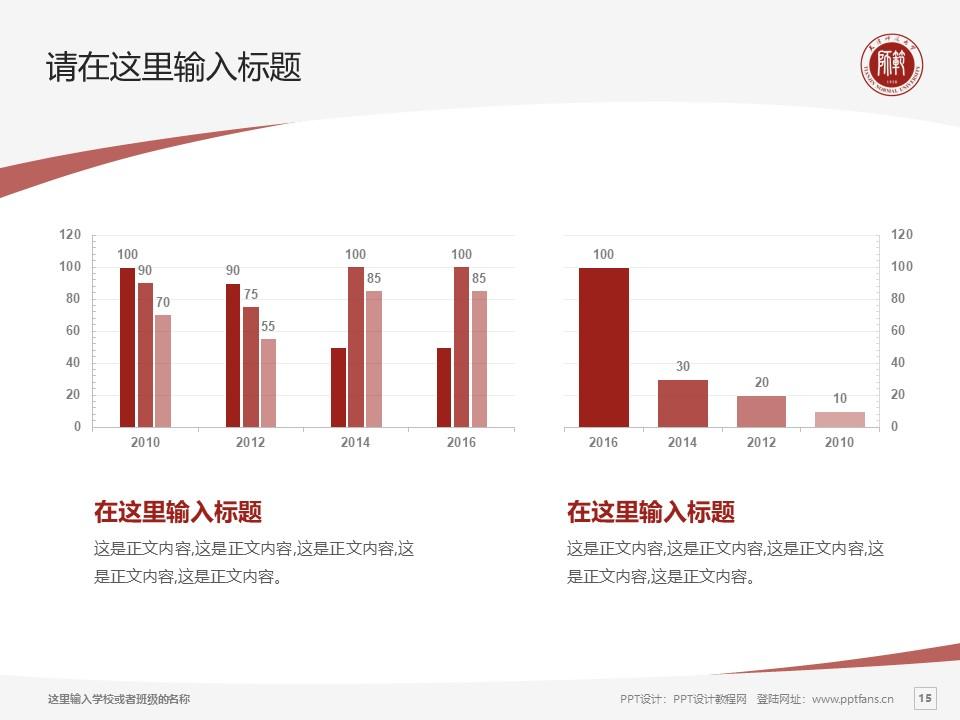 天津师范大学PPT模板下载_幻灯片预览图15