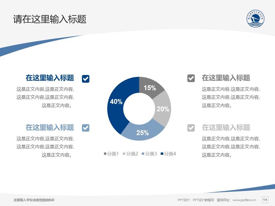 武汉船舶职业技术学院PPT模板下载_幻灯片预览图14
