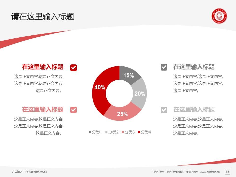 陕西青年职业学院PPT模板下载_幻灯片预览图14