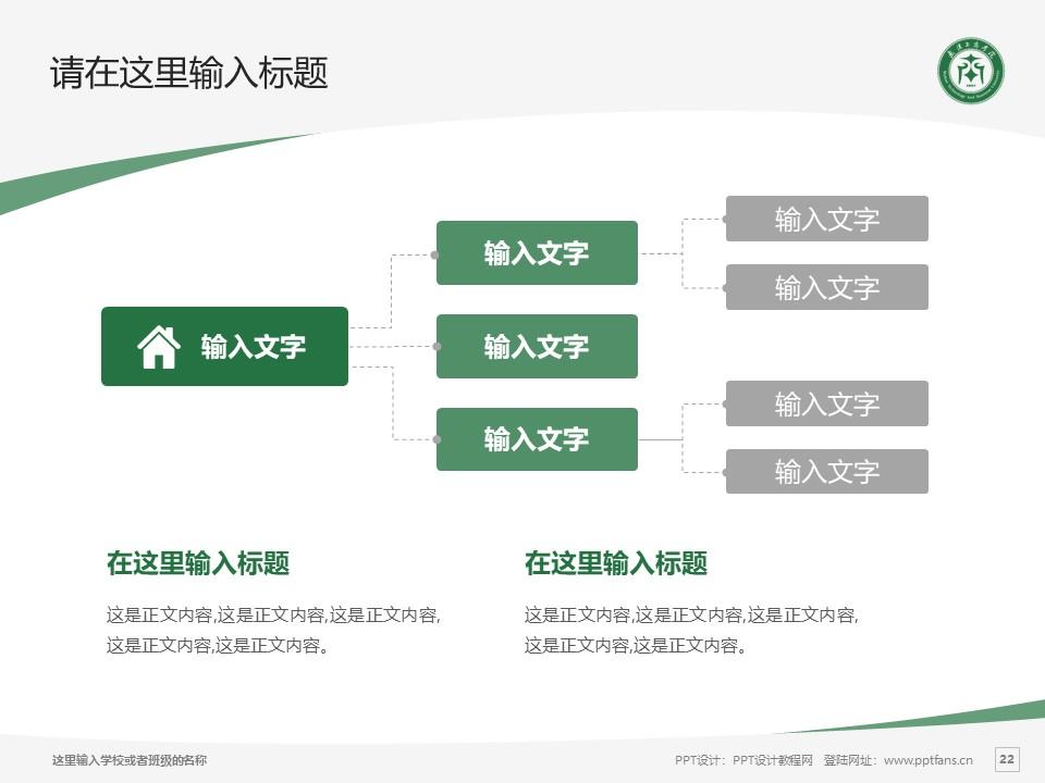 武汉长江工商学院PPT模板下载_幻灯片预览图22