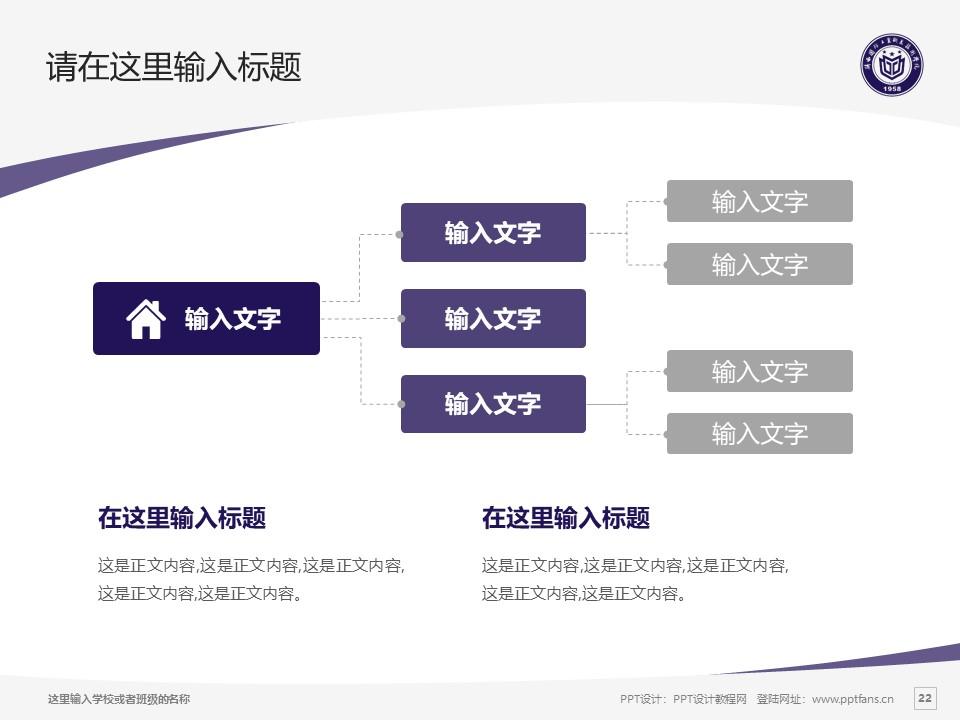 陕西国防工业职业技术学院PPT模板下载_幻灯片预览图22