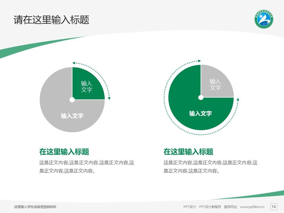 郑州信息科技职业学院PPT模板下载_幻灯片预览图12