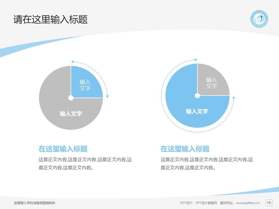 重庆安全技术职业学院PPT模板_幻灯片预览图12