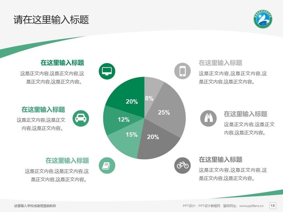 郑州信息科技职业学院PPT模板下载_幻灯片预览图13