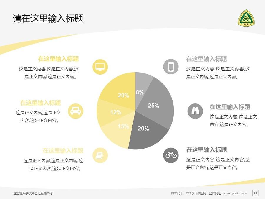 重庆邮电大学PPT模板_幻灯片预览图13