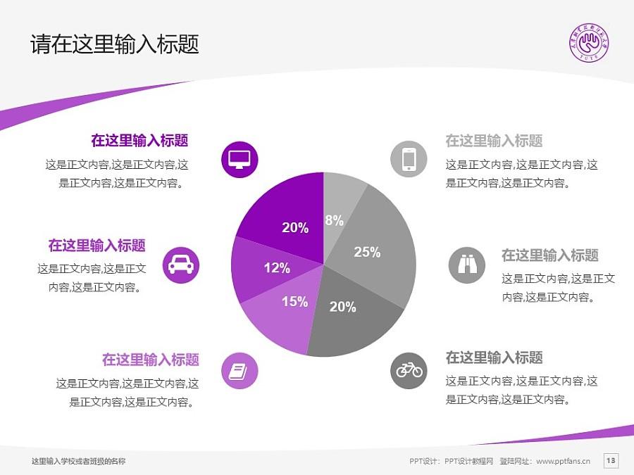 天津职业技术师范大学PPT模板下载_幻灯片预览图13