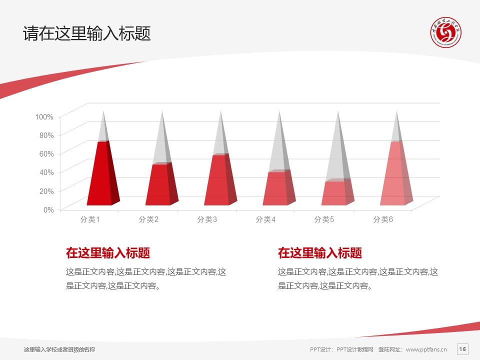 陕西服装工程学院PPT模板下载_幻灯片预览图16