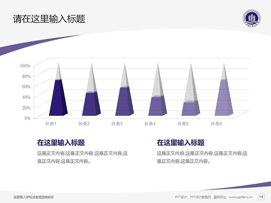 重庆工商大学PPT模板_幻灯片预览图16