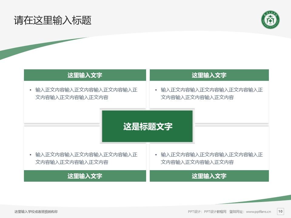 武汉长江工商学院PPT模板下载_幻灯片预览图10