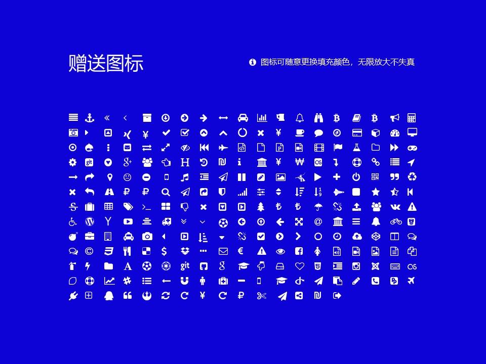 嵩山少林武术职业学院PPT模板下载_幻灯片预览图43