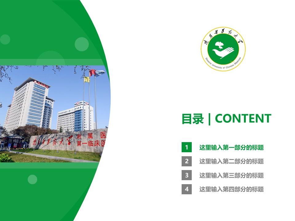 陕西中医药大学PPT模板下载_幻灯片预览图3