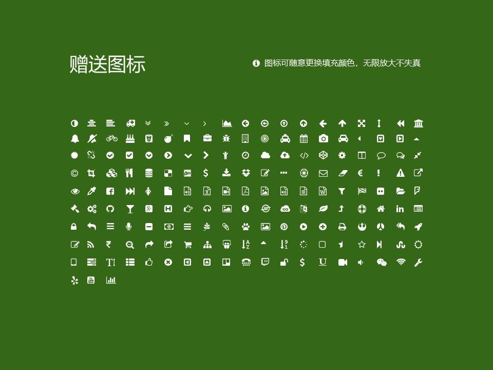 商丘医学高等专科学校PPT模板下载_幻灯片预览图35